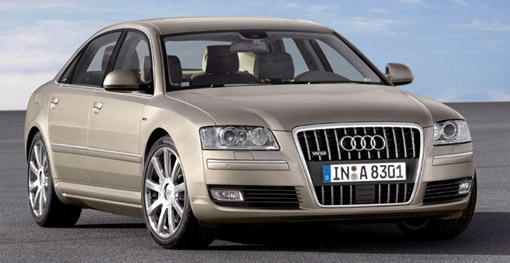 audi a8 gets a facelift for 2008. Black Bedroom Furniture Sets. Home Design Ideas