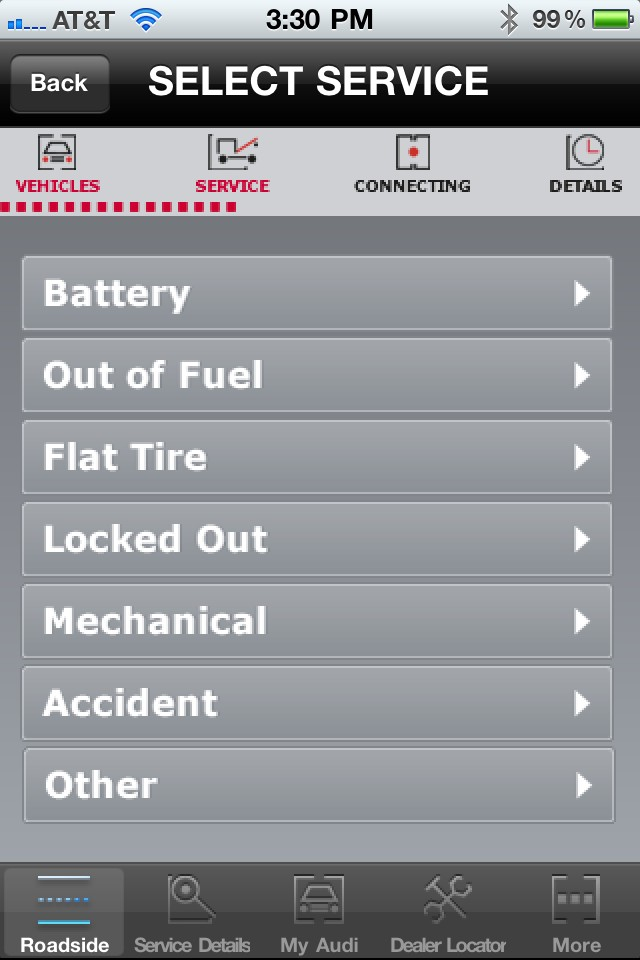 audi launches roadside assistance app for smartphone users. Cars Review. Best American Auto & Cars Review