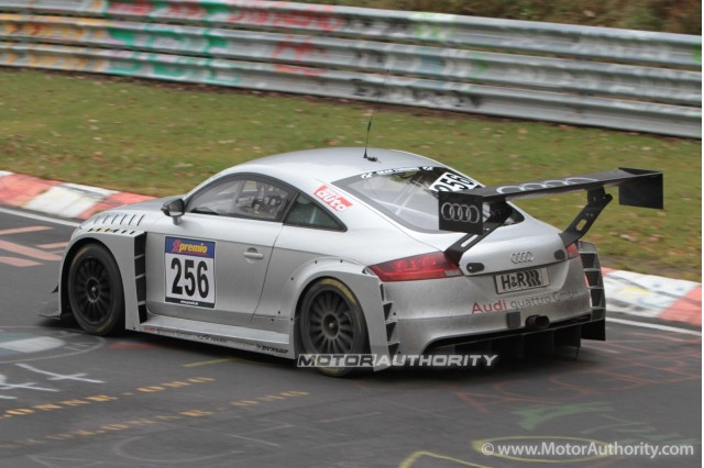 2012 audi tt rs race car ready for sale gallery 1 motorauthority. Black Bedroom Furniture Sets. Home Design Ideas