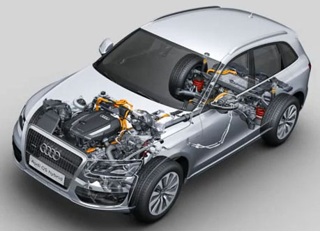 video 2012 audi q5 hybrid first look. Black Bedroom Furniture Sets. Home Design Ideas