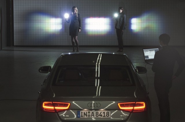 Audi Attempts To Add Matrix Lighting Technology To Its