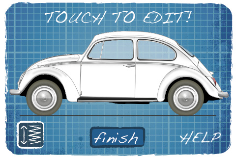 Beetle Generator iPhone app
