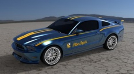 Blue Angels Mustang GT