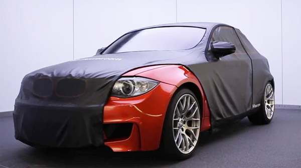 BMW 1-Series M car teaser