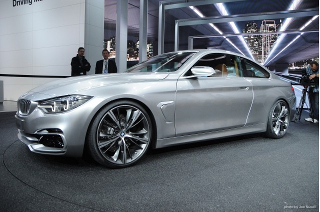 January 14, 2013 - Detroit, MI. BMW 4-Series Coupe Concept revealed at
