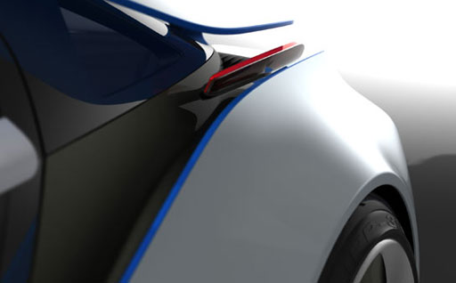 BMW Vision EfficientDynamics Teaser no. 2