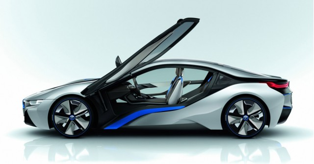 bmw i8 concept 78 mpg and 0 60 mph in under 5 seconds gallery 1 motorauthority. Black Bedroom Furniture Sets. Home Design Ideas