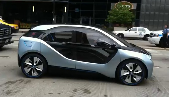 2014 Bmw I3 Electric Car Caught In Chicago