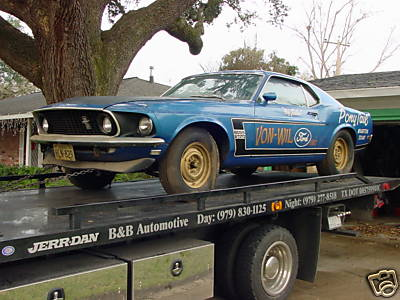 1969 Mustang Boss 302 Garage Find With Only 169 Miles On