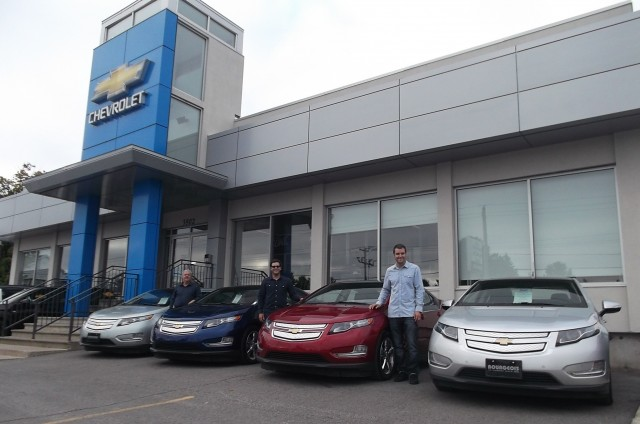 Canadian Electric-Car Dealership Awards Honor Sales