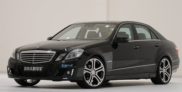 brabus first off the block with complete upgrade for new mercedes benz e class. Black Bedroom Furniture Sets. Home Design Ideas