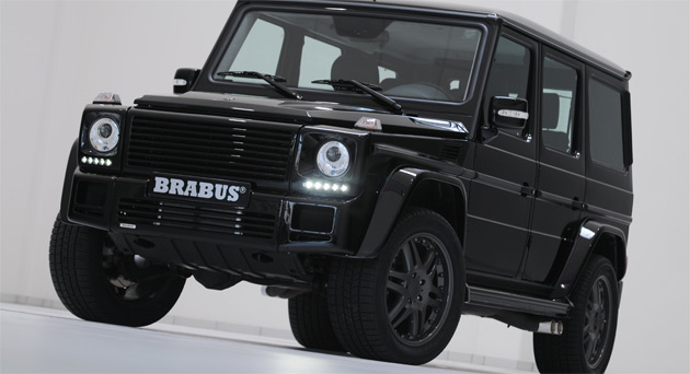 Brabus bringing 700hp mercedes benz g class to geneva for Mercedes benz g class brabus