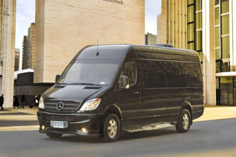 Brilliant Mercedes-Benz Sprinter Van Exterior