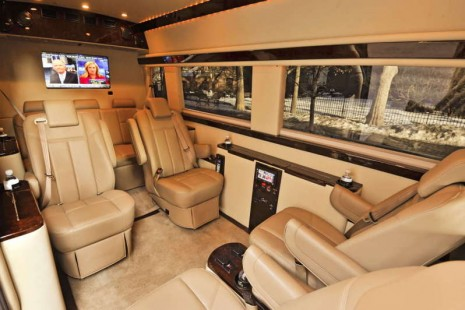 Brilliant Mercedes-Benz Sprinter Van Interior