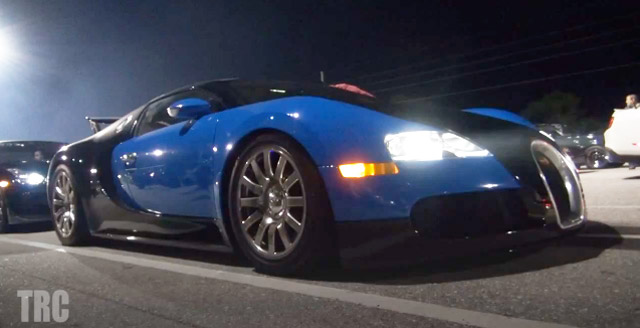 new video of a bugatti veyron running the quarter mile in. Black Bedroom Furniture Sets. Home Design Ideas
