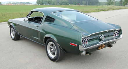 1968 Ford Mustang 390 Gt 2 2 Fastback >> Limited Edition Steve McQueen Mustang Now Available
