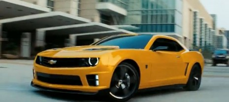 Bumblebee Camaro Back For Transformers 3: Video
