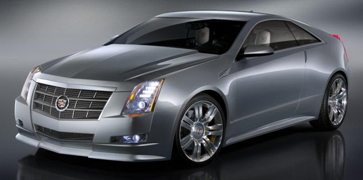 Cadillac drops the CTS Coupe Concept in Detroit