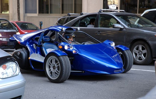 2009 campagna t rex the car that is two thirds motorcycle for T rex motor cycle