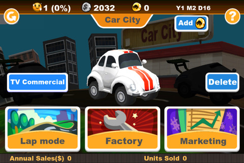Car City iPhone app