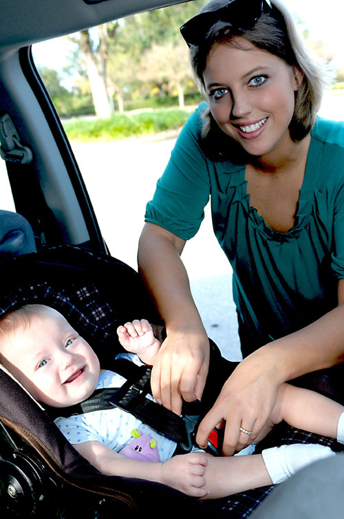 Car seat - correct installation, AAA