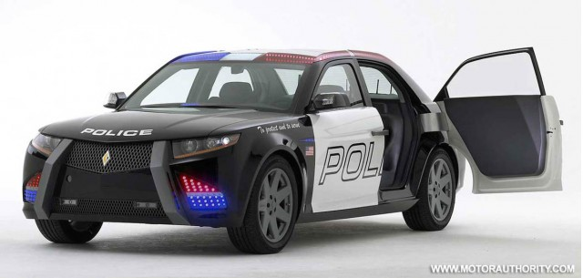 carbon motors e7 police car 007
