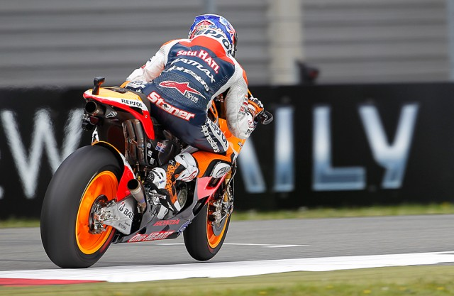 Casey Stoner overcame a spill to earn Assen's pole - MotoGP photo