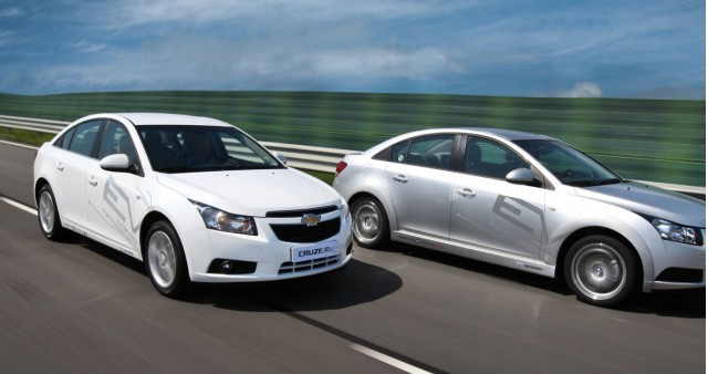 Chevrolet Cruze EV, test fleet in South Korea, October 2010 #9794021