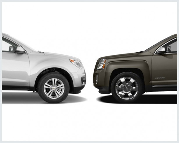 Chevrolet Equinox Vs GMC Terrain Compare Cars  GMC Terrain