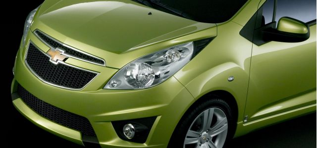 The new Chevrolet Spark mini-car has its roots in the 2007 Chevy Beat concept.