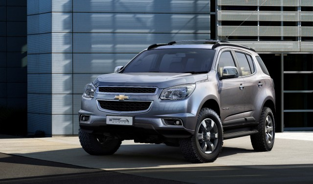 2013 Chevy Trailblazer SUV to be Revealed