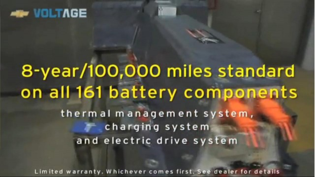 What Makes the 2011 Chevrolet Volt a Better Electric Vehicle? (video screen capture) #7679661