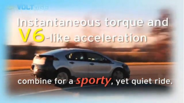 What Makes the 2011 Chevrolet Volt a Better Electric Vehicle? (video screen capture) #7436955