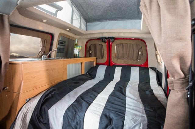Dalburye Nissan E Nv200 Camper Van Conversion By Hillside