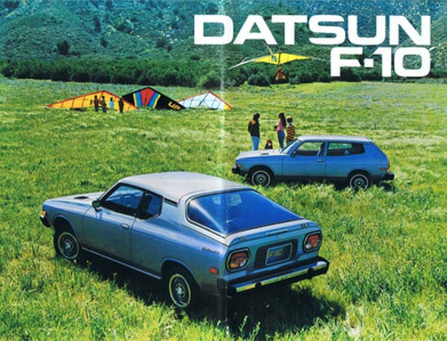 Datsun F10 For Sale >> Guilty Pleasure: Datsun F10