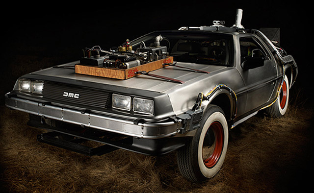 Back To The Future Delorean Time Machine Sells For 541k