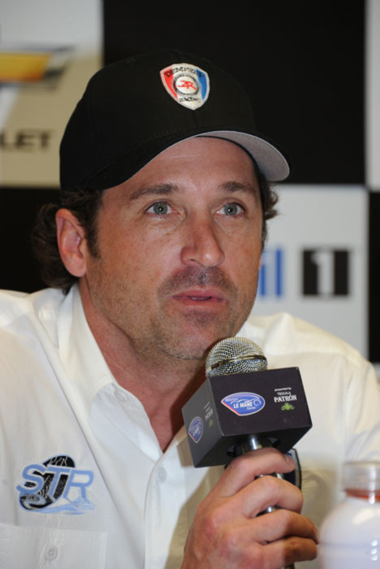 Dempsey announced his LMP2 program at Sebring - ALMS photo