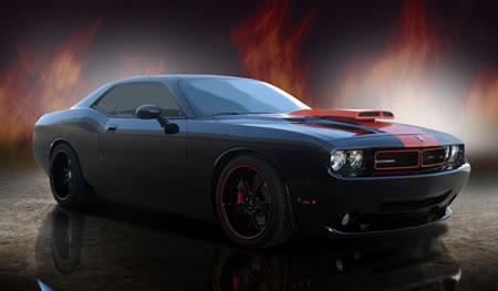 the diablosport dodge challenger will make it s debut at the sema show
