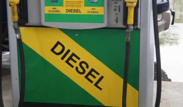 Fewer Gas Stations  But More Diesel Pumps  As Diesel Sales