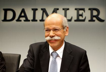 Ceo zetsche says mercedes benz won 39 t win 2013 luxury sales for Mercedes benz ceo