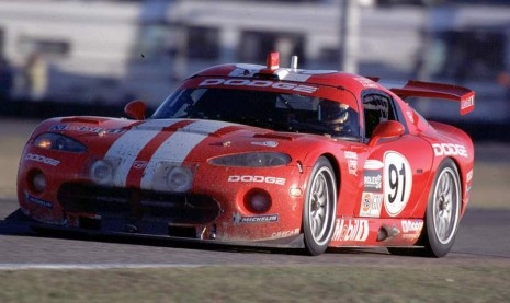 Dodge Viper Race Car At The 24 Hours Of Daytona In 2000