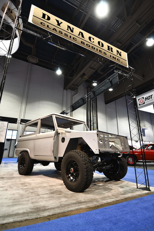 Dynacorn To Produce Vintage Ford Bronco Bodies