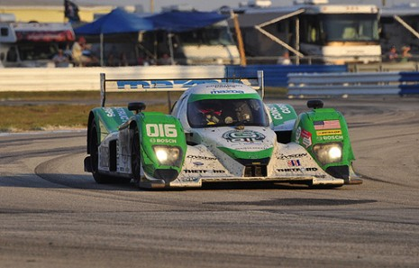 Dyson Racing's Lola/Mazda uses an isobutanol-blend fuel Photo: Anne Proffit