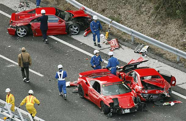 22 Worst Crashes Of 2011, Bentley Crash, 2012 NACTOY