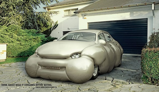 Erwin Wurm's Fat Car
