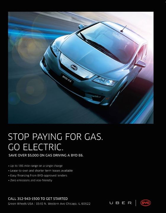 Electric Car Lease Promotion