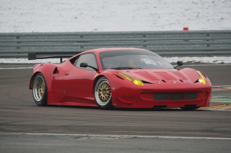 Ferrari 458 GT2 race car