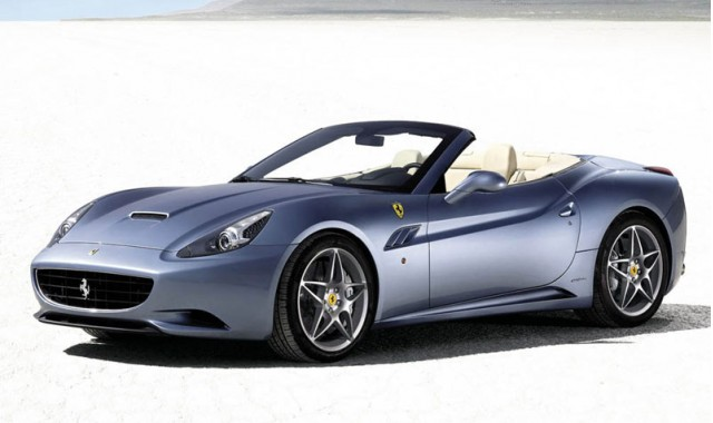 Bidding for the Ferrari California topped out at $350,000