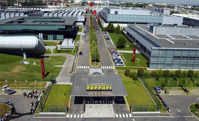 Ferrari headquarters in Maranello, Italy