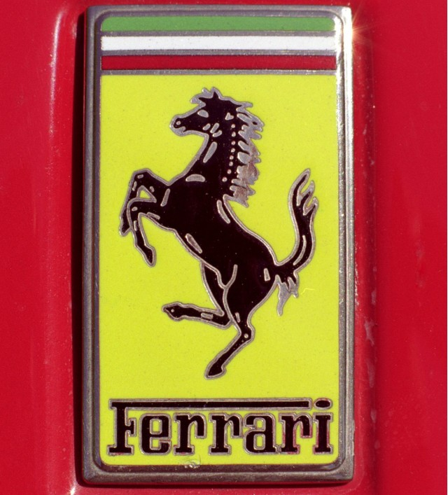 Car Logos With Horses On Them Ferrari prancing horse logo